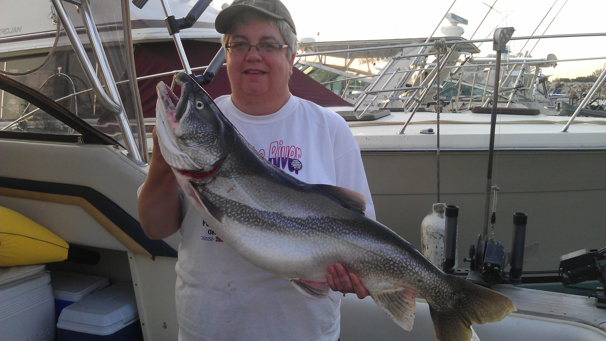 lake trout charter fishing