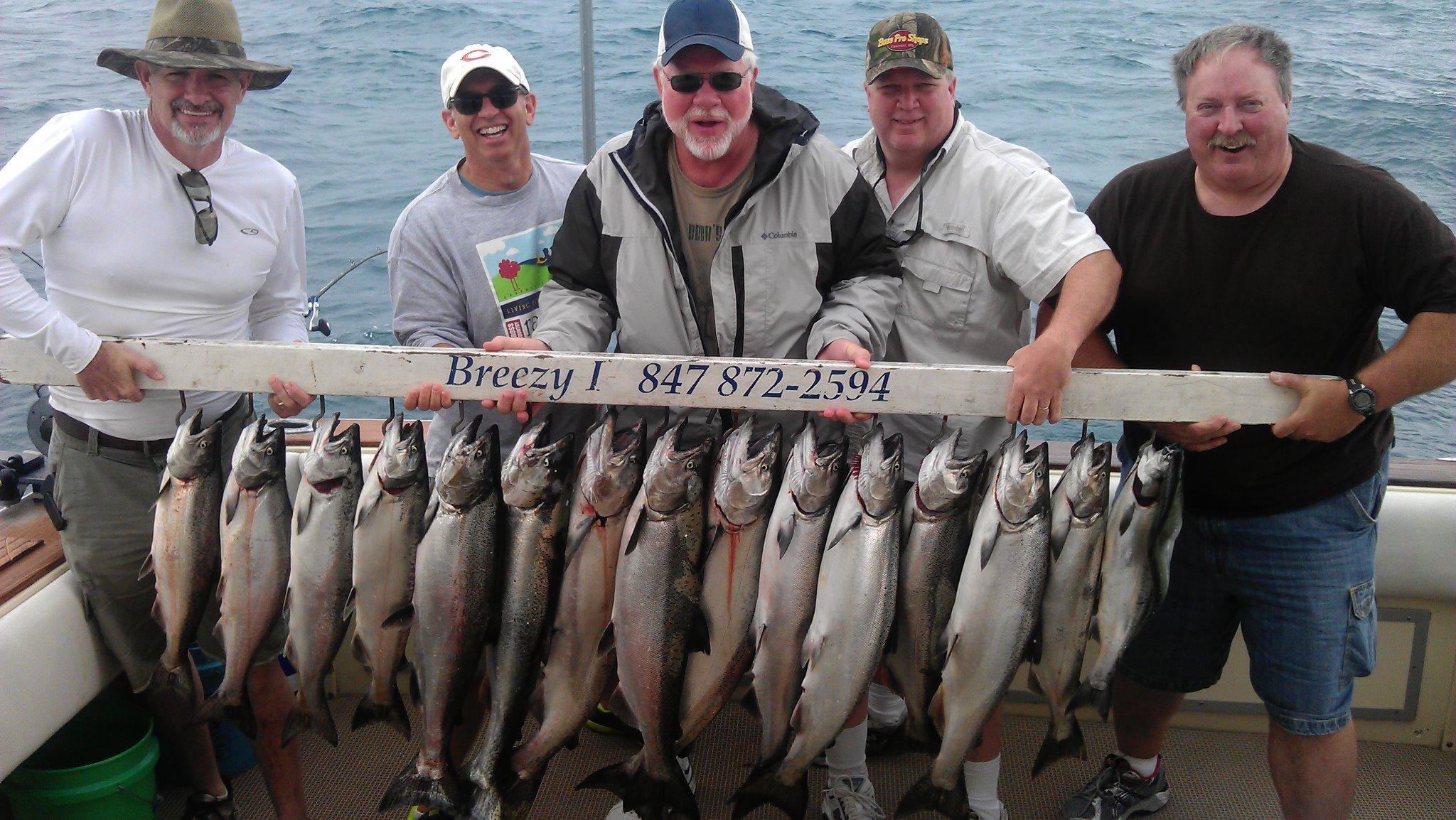 waukegan salmon charter