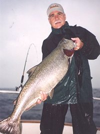 northern illinois salmon fishing