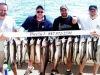 Lake Michigan salmon fishing charter boat