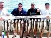 Lake Michigan salmon fishing charter boat